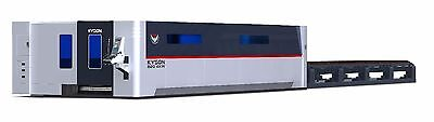 Best NEW NEW  RMT - KYSON FIBER LASER 6' X 20'  DUAL TABLES 4 KW