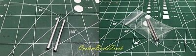 "Custom DCP Peterbilt or Kenworth a pair 2"" Aluminum straight Stacks 1/64"