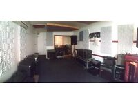 REHEARSAL space share w/ STORAGE very close to OLD STREET station - Fortress Studios