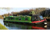 Liveaboard Widebeam Canal Boat - 60' x 10' moored in Bishopsthorpe, York