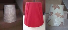 *** 3 x Lovely lampshades – From £10 ***