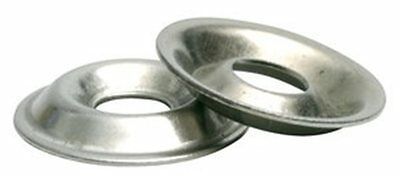 Stainless Steel Flange Cup Finishing Washer 10 Qty -100