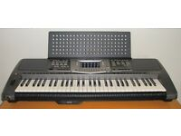 Yamaha psr1000 with speakers and mixing