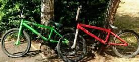 BMX custom BMX dirt bike