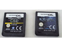 2 Nintendo Ds, Dsi Lite, 2ds Games - CSI and Hotel Giant