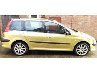 Peugeot 206 SW 2.0 Petrol *Reduced*
