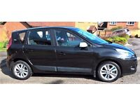 RENAULT SCENIC 2010, 5 DOOR, EX. CONDITION, BLACK, ALLOYS, BLUETOOTH - 39,000 MILES