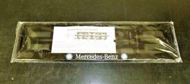 Mercedes Number Plate Holder
