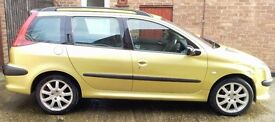 PEUGEOT 206 SW 2.0 **reduced more