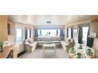 3 bedroom double glazed central heated static caravan for sale !! 12 month warranty !!