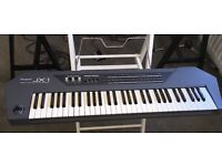 Roland JX-1 performance synthesizer in perfect condition with original packaging