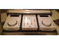 CD-J 350 & DJM PACKAGE including flight case