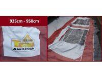 Caravan Awning Pyramid Tuscany 925cm - 950cm Size 12 Swift Ace Abbey BARGAIN
