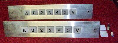 Lot of (2) Vintage Elevator Floor Indicator & Direction Arrows Fixtures - Wired
