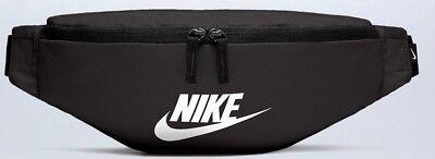 Nike Heritage Sports Bum Bag  Waist pack  Bumbag Belt Fanny Pack Waistpack Black
