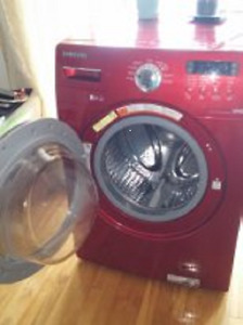 LAVEUSE SAMSUNG CHARGEMENT FRONTALE *** FRONT LOAD WASHER SAMSUN