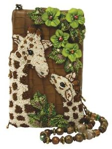 NWT Mary Frances Neck and Neck Giraffe Purse I Handmade