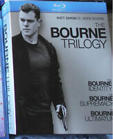 The Bourne Trilogy Blu Ray - Mint Condition
