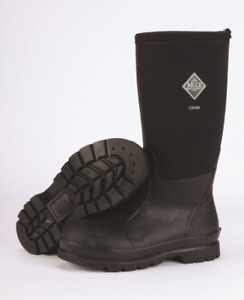 NEW men's Muck Chore All Conditions Work Boots (black) *size 9