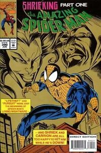 AMAZING SPIDER-MAN COMIC BOOK 390 BAGGED NM