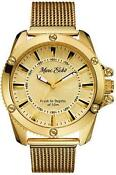 Marc Ecko Watch Gold