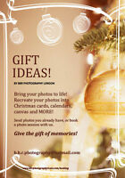 GIFT IDEAS! By BBR Photography London
