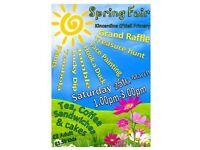 Spring Fair 25th March 1p.m - 3 p.m