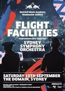 Flight Facilities with Sydney Symphony Orchestra Bondi Beach Eastern Suburbs Preview
