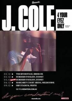 2 jcole tickets