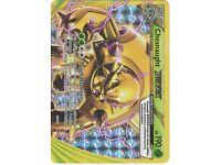 Chesnaught BREAK 12/162 XY BREAKthrough, Full Art Holo Pokemon Card