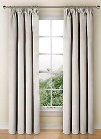 Marks & Spencer curtains | Colour: Grey | Size: W130cm x Drop 229cm | Great condition
