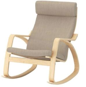 IKEA Rocking chair AND footrest