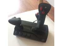 Flight stick with integrated thrust control