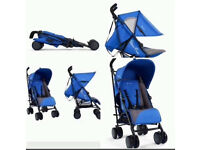 Silver cross pop stroller blue