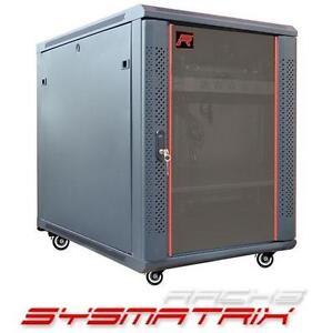 "NEW SYSMATRIX NETWORK CABINET SERVER RACK CABINET 24""w x35""d x25""h 107055076"