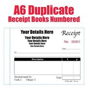 Personalised Receipt Book