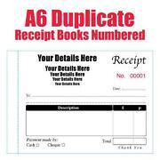Personalised Receipt Book