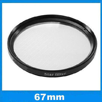 Filtre effet étoilé à 6 branches Ø67mm Star-6 pour Nikon, Canon EOS, Sony