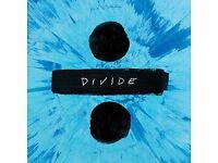 Ed Sheeran Standing Newcastle Ticket