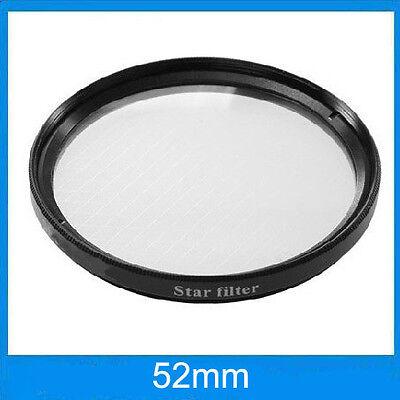 Filtre effet étoilé à 6 branches Ø52mm Star-6 pour Nikon, Canon EOS, Sony