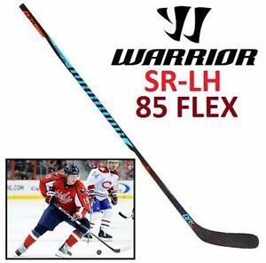 NEW WARRIOR QRL HOCKEY STICK SR LH   SR SENIOR - LH LEFT HAND - 85 FLEX - GRIP - W03 BACKSTROM - QRL PRO SPORTS 89921160