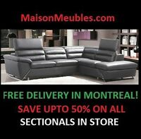 Holiday Season lowest Prices Of the Year Sectionals
