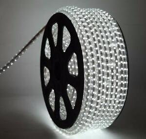 Led strip light Single Color CW/WW High Voltage 110~120V waterproof 100 M