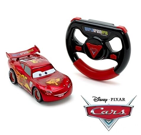 "Lightning McQueen, Disney Pixar Cars 6"" Remote Control Car,  New & Boxed"
