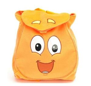 Go DIego Go Orange Animal Rescue Pack Plush Backpack