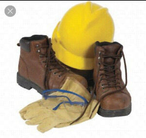 please if anybody has an old pair of work boots kicking around