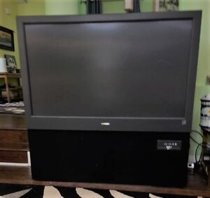 "51"" rear projection screen Magnavox TV FREE FOR PICKUP"
