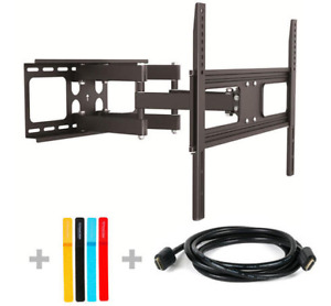 "New in Box Full Motion TV Wall Mount - 37-70"" (Free HDMI)"