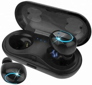 Bluetooth Earbuds & Charging Case, Brand New, Never Used
