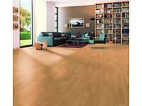 Wood Floor whole house £499 + vat. 8 finishes available. 8 mm German Manufactured 15 yr warranty